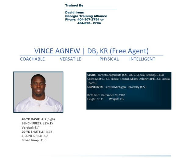 Vincent Agnew profile